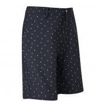 Print Shorts - Navy/White