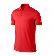 Nike Victory Solid DryFit Golf Polo - red