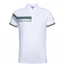 Club polo white