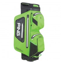 Pioneer Monsoon Waterproof Cart Bag - electric lime green/black