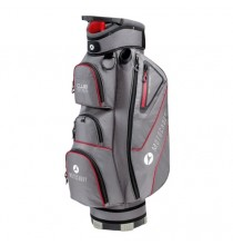 Club Series Golf Cart Bag - Charcoal/Red