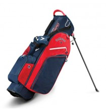 Fusion Zero Stand Bag - Navy/Red/White