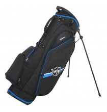 Lite II Stand Bag - Black/Light blue